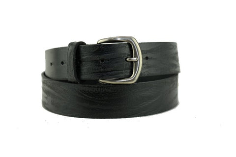 Mans Black Leather Belt 1103