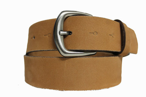 Handmade Camel Blank Leather Belt 2114