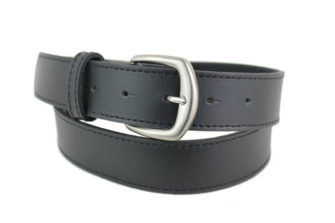 leather black belt men