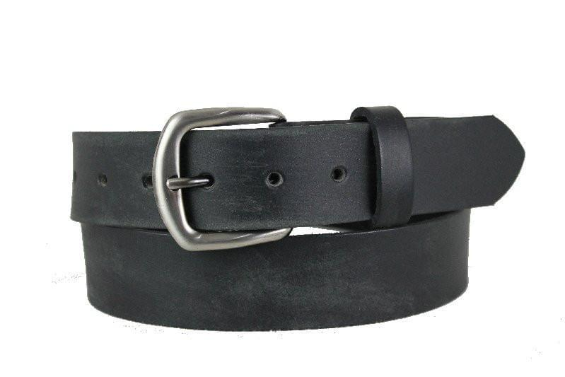 Black Leather Belt 1110 - United Split