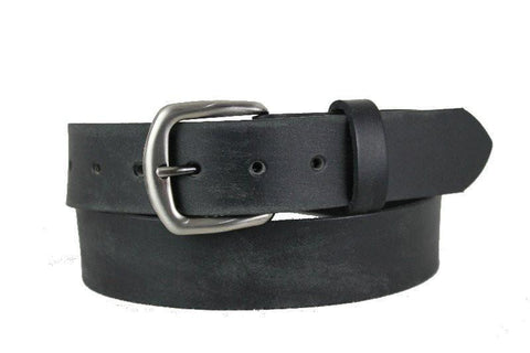 Black Leather Belt 1110
