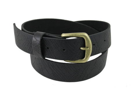 Black Leather Belt 1152