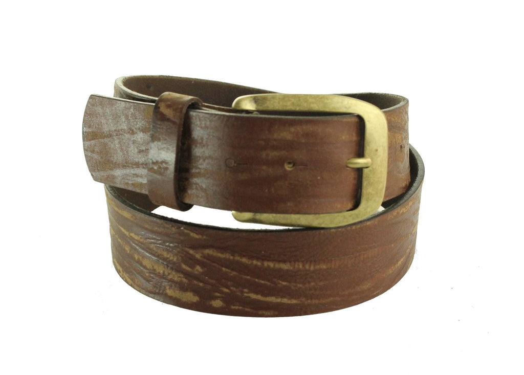 Brown Leather Belt 5103 - United Split