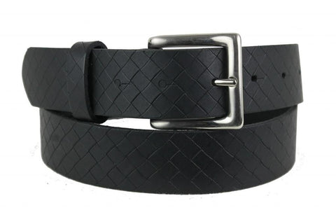 Black Leather Belt 1151