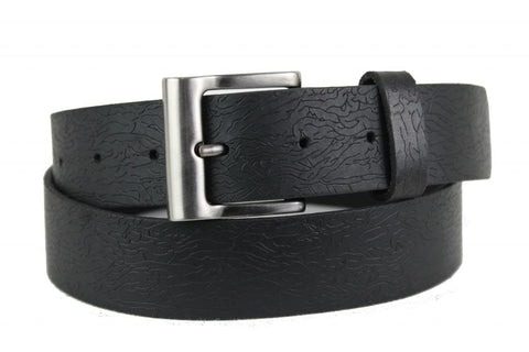 Special Black Leather Belt 1150