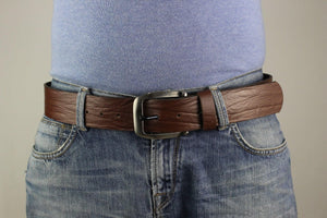 Brown Leather Belt 5101