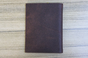 Unisex Men's Woman Genuine Leather Passport Cover Wallet 9704