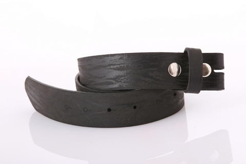 Black Wide Leather Belt 4103