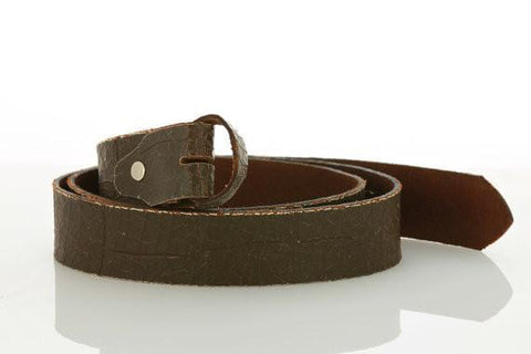 Brown Leather Belt 2111