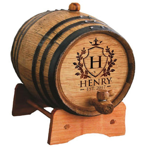 Personalized Wine Barrel, Bourbon Barrel, Whiskey Barrel, Gifts for Groomsmen, Groomsman Gift, Personalized Whiskey Barrel 1 or 2 or 3 Liter