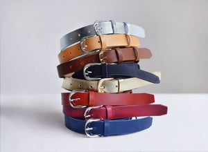 Leather belt 1inch