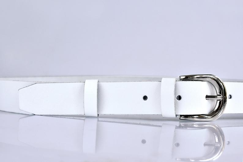 Womens leather belt 1inch