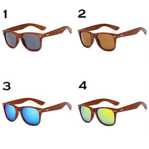 Personalized Walnut Wooden Sunglasses