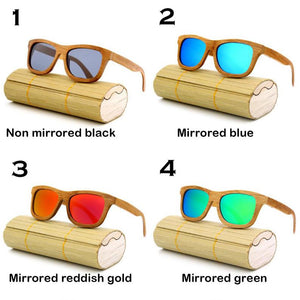 Personalized Polarized Bamboo Wood Wooden Sunglasses, Engraved Unisex Sunglasses, Mens Gift, Groomsmen Gift, Bachelorette Sunglasses
