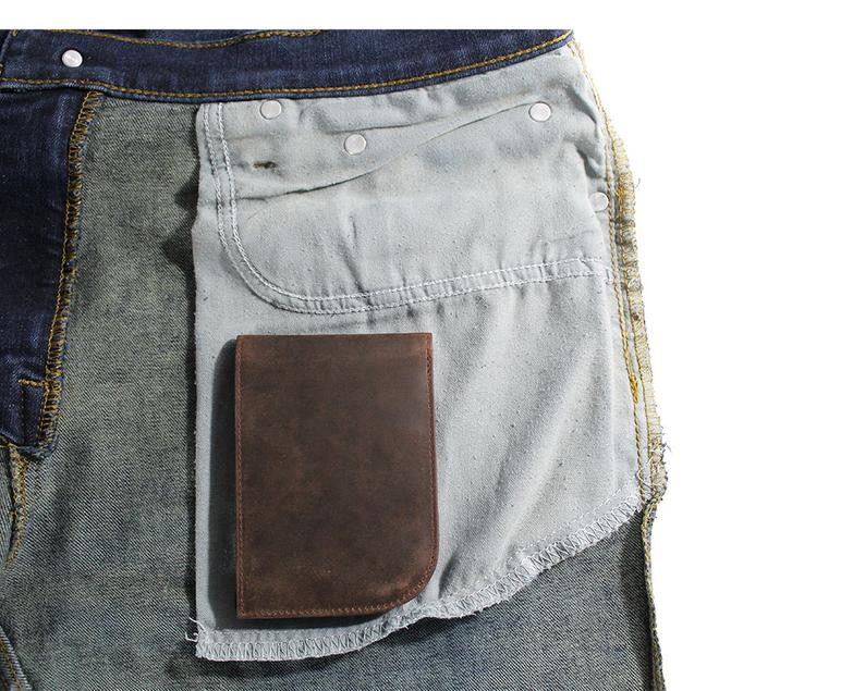 Chocolate Brown Front Pocket Wallet