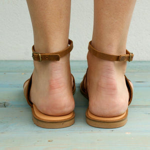 ASTRA Greek leather sandals