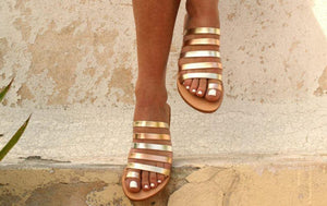 IONIA 2 sandals ancient Greek leather sandals