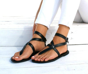 sandals Greek leather sandals