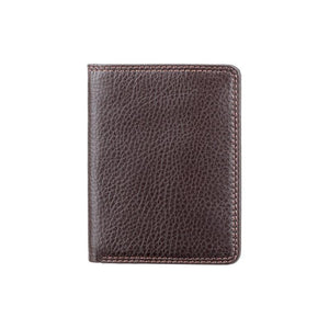 VISCONTI Slim RFID Premium Leather Cash and Card Wallet - Chocolate - Mens Card Wallet - Leather Wallets for Men - HT6 - Gift Boxed