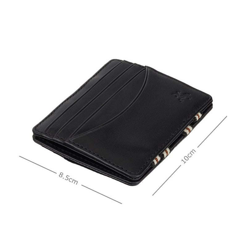 VISCONTI Magic Leather Wallet - BlackMonza Leather -VSL38