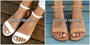 ELPIS  sandals ancient Greek leather sandals