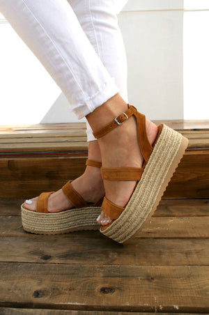 Open image in slideshow, ALBA handmade women suede leather sandals