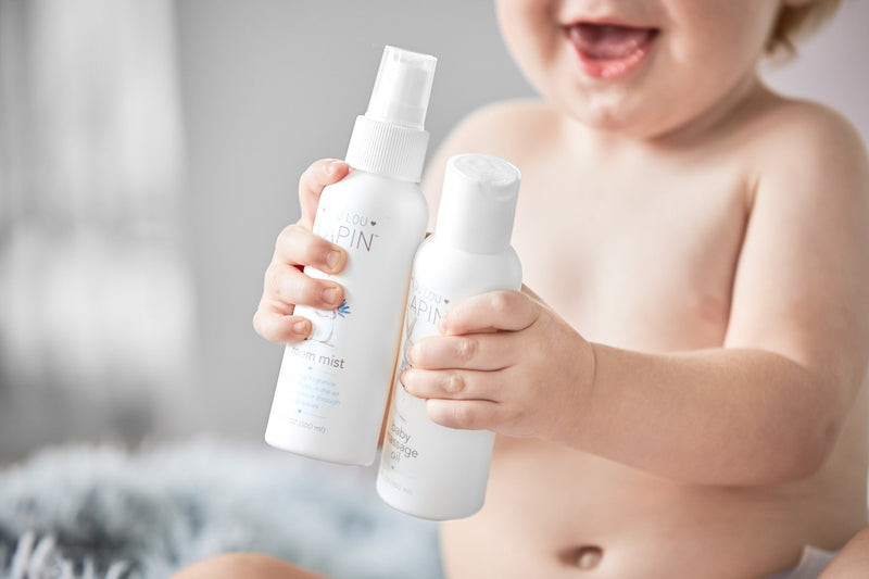Lou Lou Lapin Baby Massage Oil