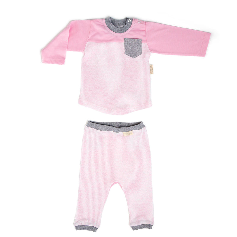 Frankie Baby colour block two-piece