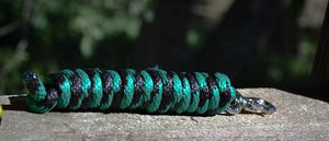 10 Ft Leadline  Teal/Black - El Sueno Espanol