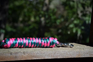 10 Ft Leadline Hot Pink/Teal - El Sueno Espanol