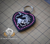 Key Chain Celtic Unicorn
