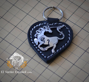 Key Chain Celtic Unicorn - El Sueno Espanol