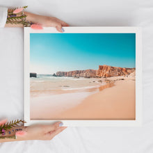 Load image into Gallery viewer, Tropical Beach Digital Print | Travel Inspired Wall Art | Algarve Portugal