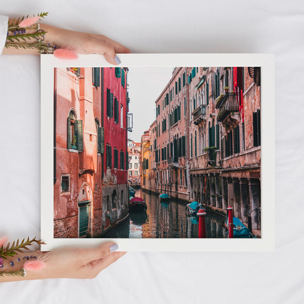 Italy Travel Wall Art Poster | Instant Download Venice Art Print