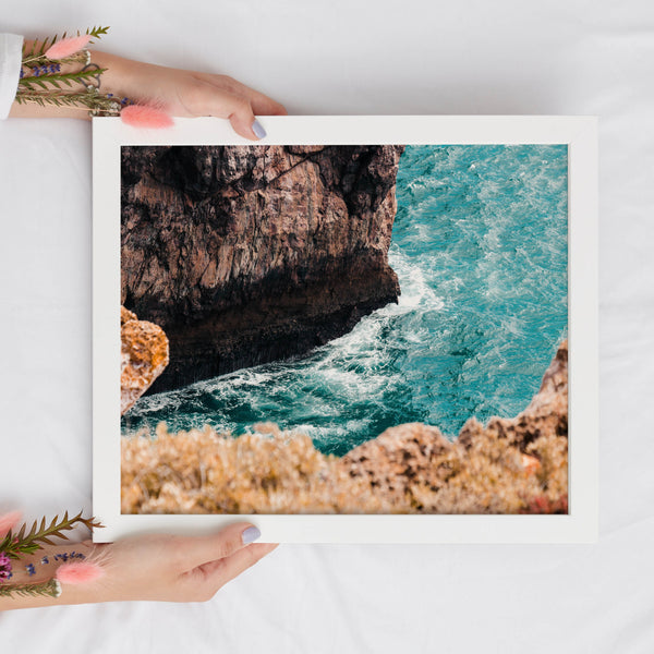 Ocean Photography Printable Wall Art | Tropical Summer Digital Print
