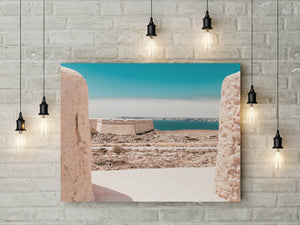 Ocean View Landscape Digital Print | Printable Summer Wall Art