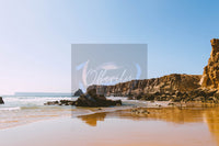 Ocean Shore Travel Print | Digital Travel Photography Poster