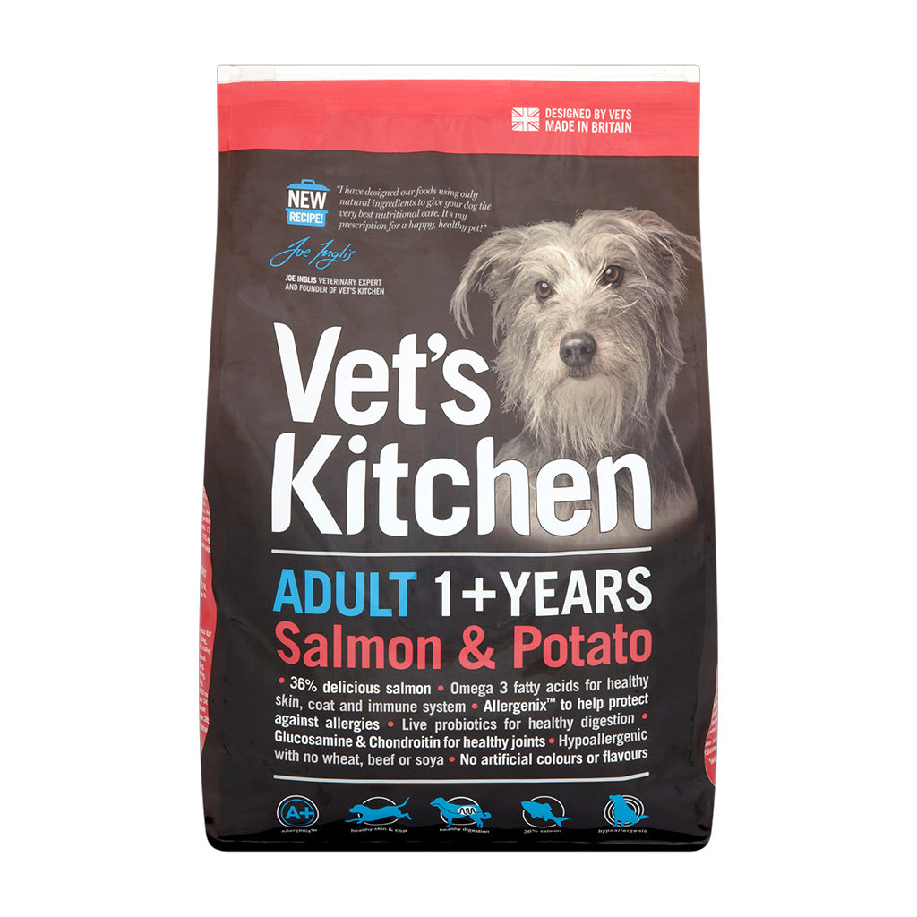 Adult Dog Dry Food Salmon & Potato