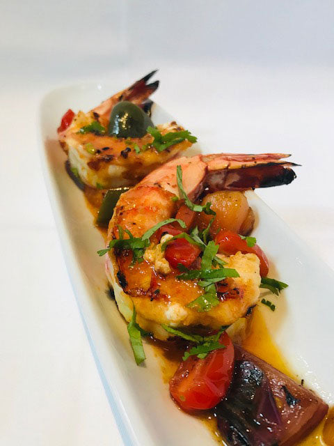 Grilled Tiger Shrimp piri piri