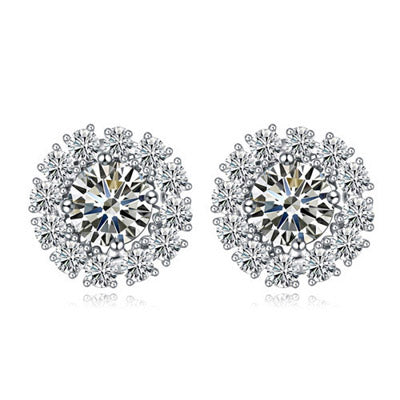 Fleur Diamond Earrings