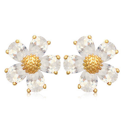 Crystal Mimosa Earrings