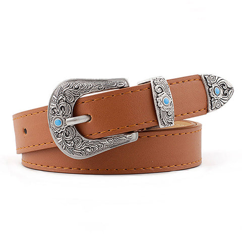 Coachella Belt in Tan