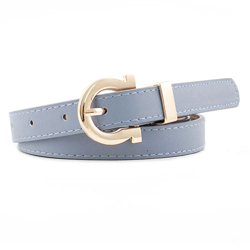 Hampton Belt in Blue Grey