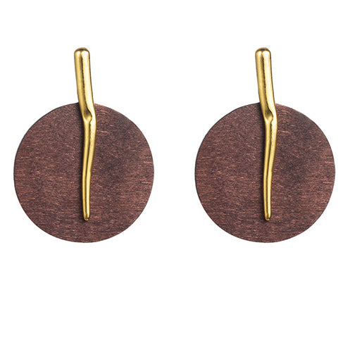 Mahogany Earrings