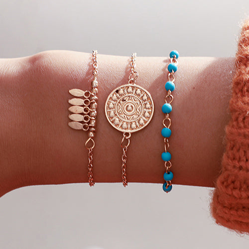 Turquoise Dream Catcher Bracelet Set