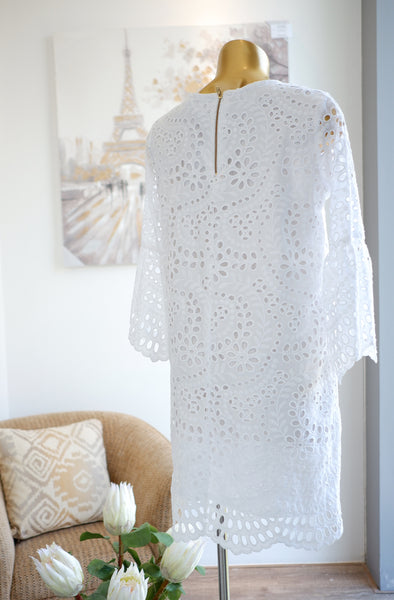 Camellia Eyelet Dress