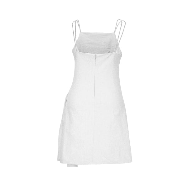 Calea Side Tie Linen Dress