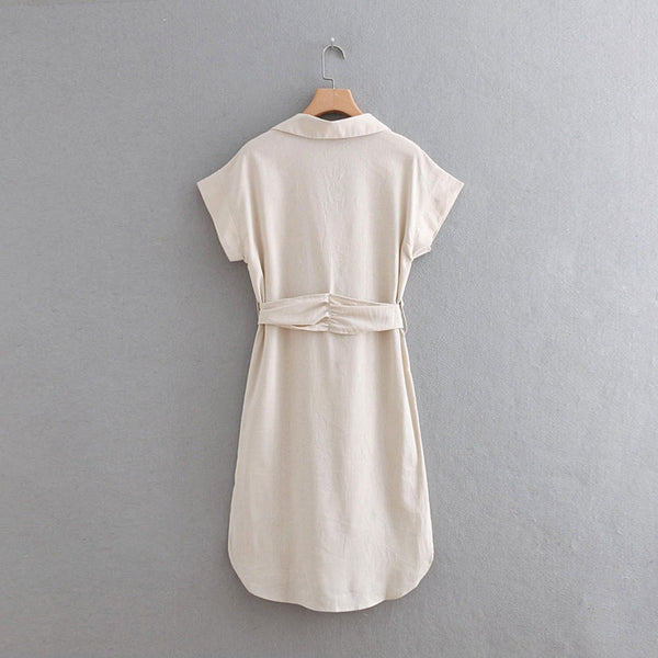 Escapade Linen Dress