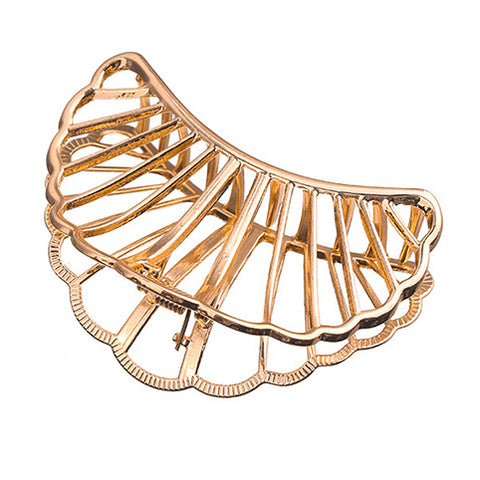 Medusa Hair Clip in Gold