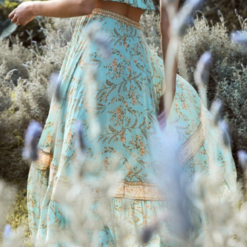 In The Prairie Maxi Skirt